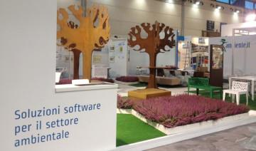 Progettazione stand Ecomondo 2012