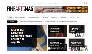 Sviluppo magazine per artisti